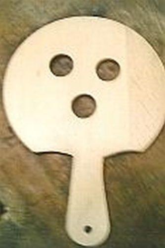 Rundes Holzpaddle 001